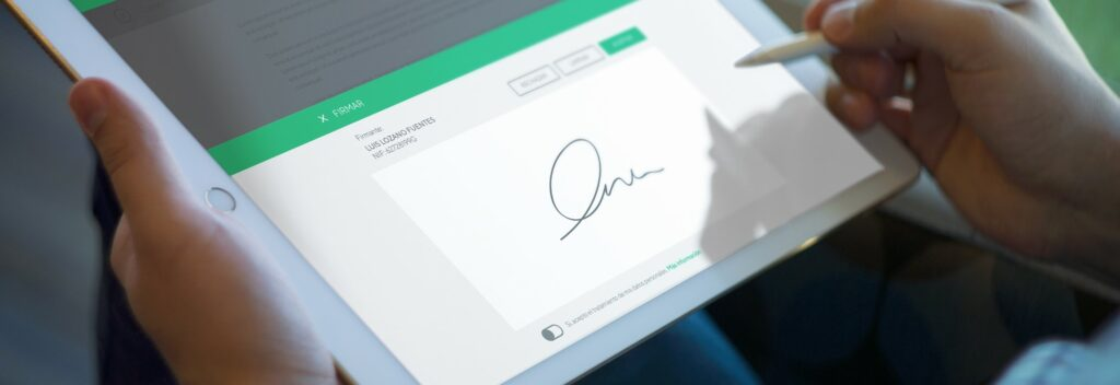 Firma Biométrica en la digitalización de documentación médica